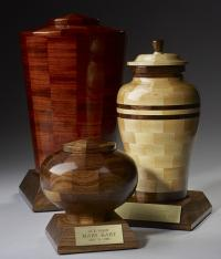 Custom Personalized Wood Urns Steve Shannon Collection