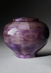 Peony Purple Artistic Urn